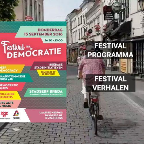 Terugblik naar het festival van de Democratie