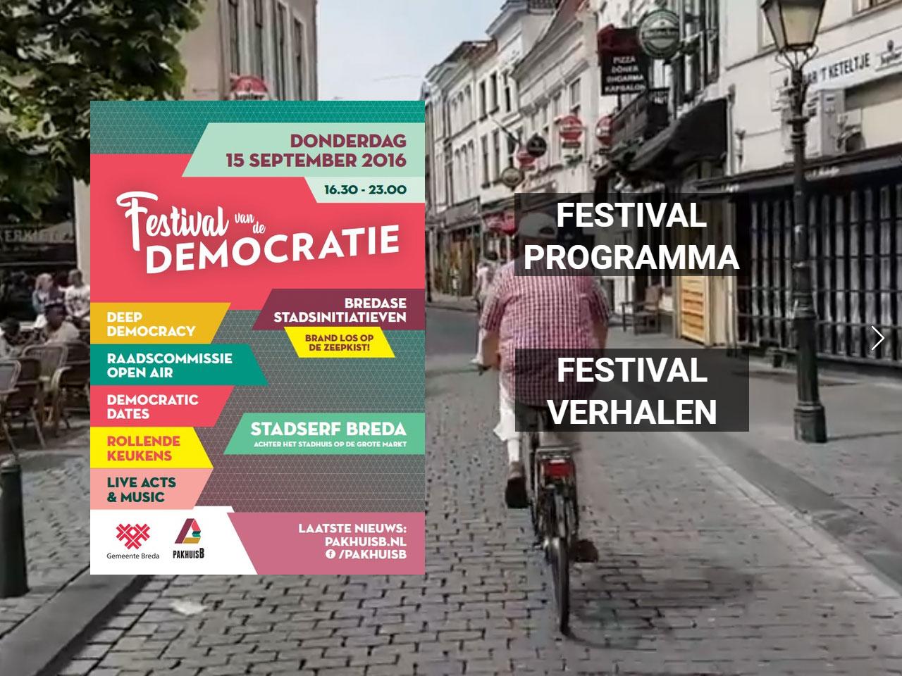 Festival van de Democratie